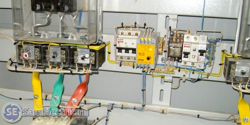 Trefasstyrningsschema AVR