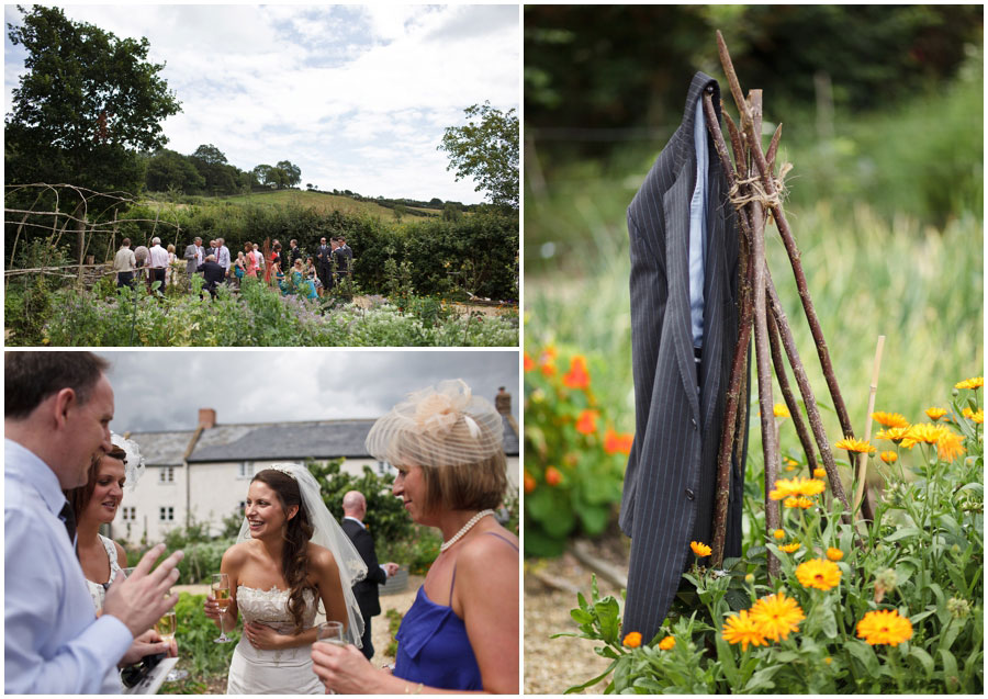 River Cottage Wedding Photography garden