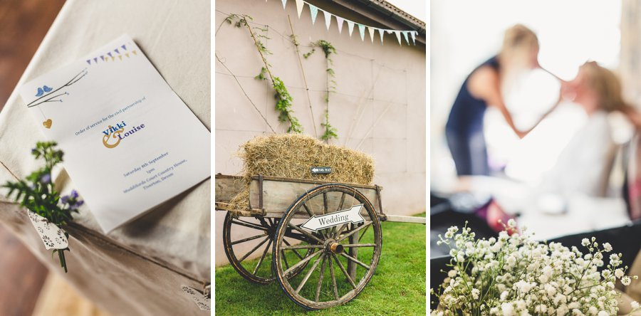 muddifords court wedding photographs