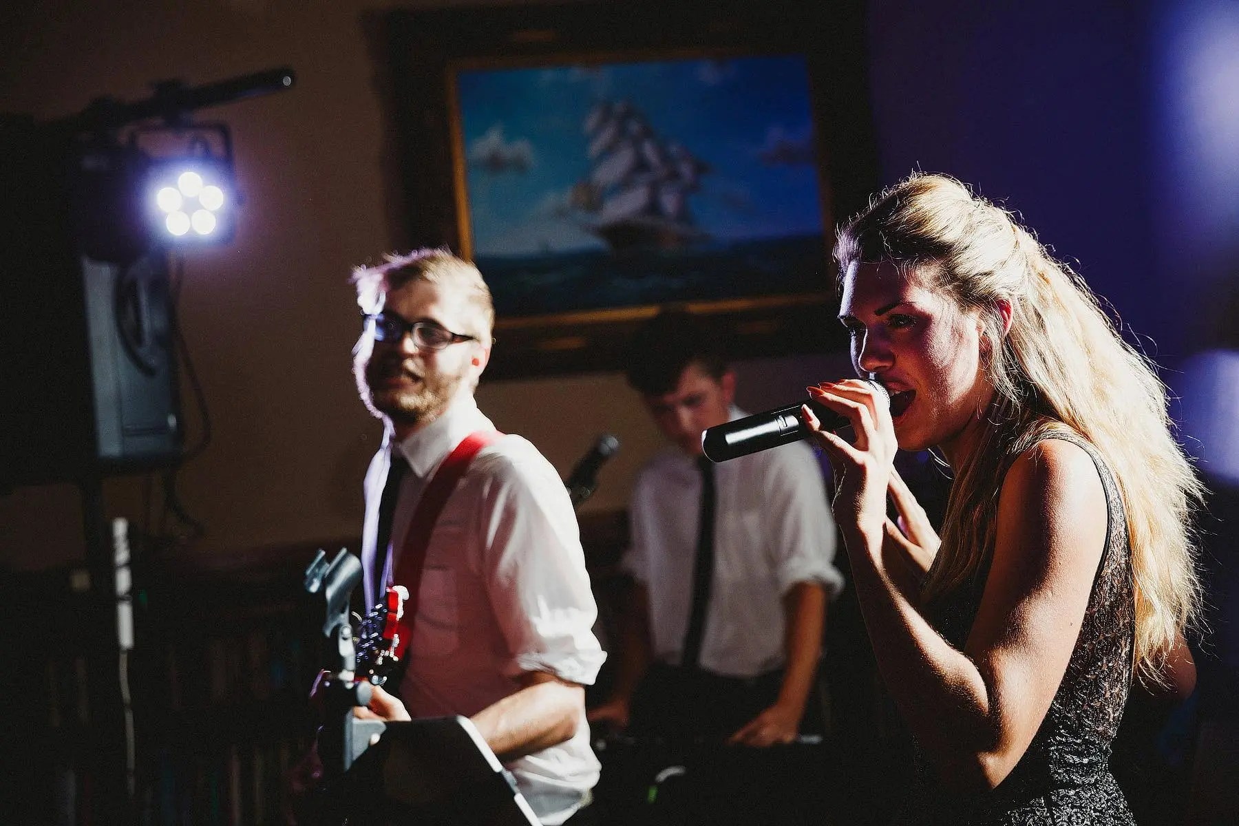 wedding band at orchardleigh