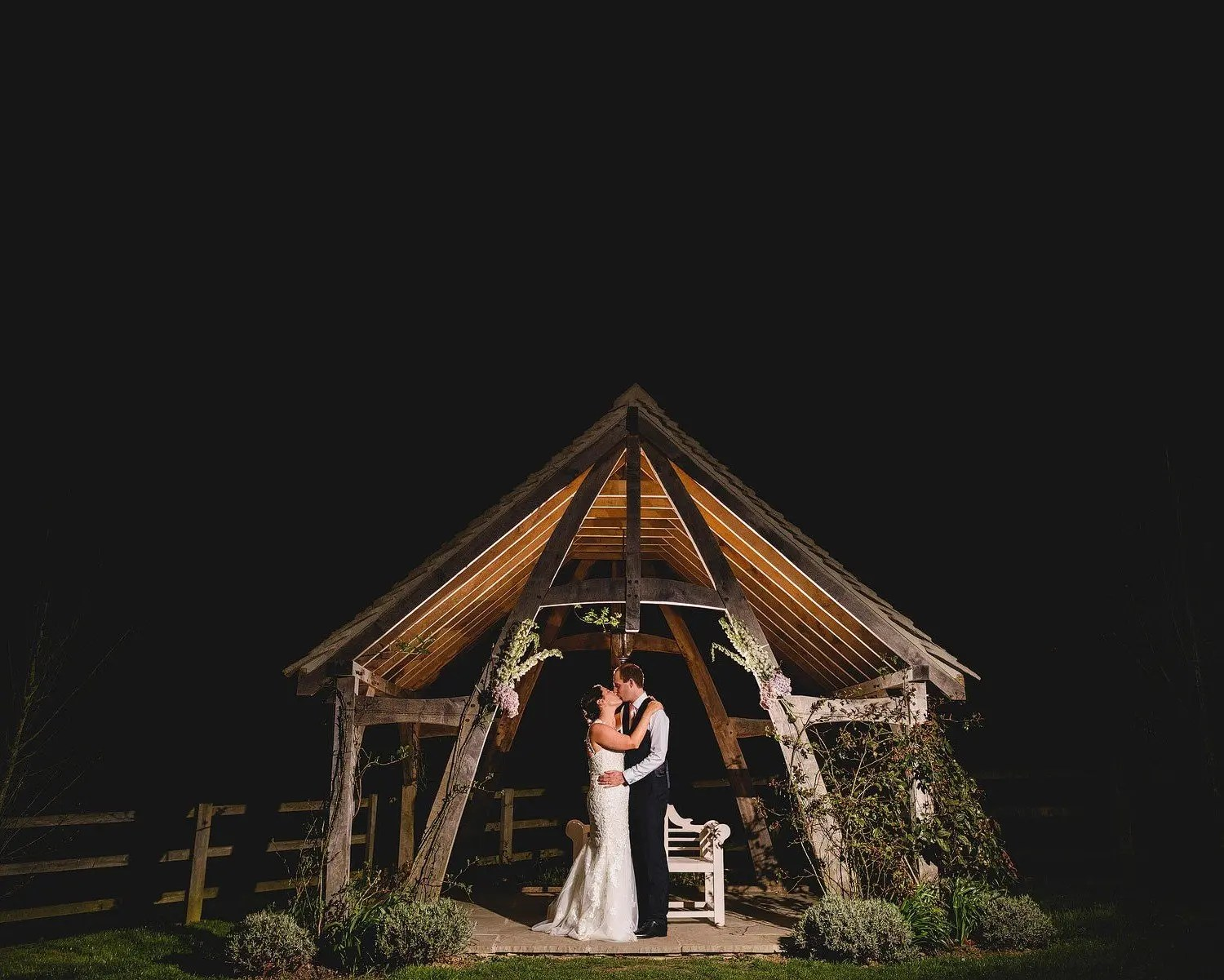 barn wedding cotswolds