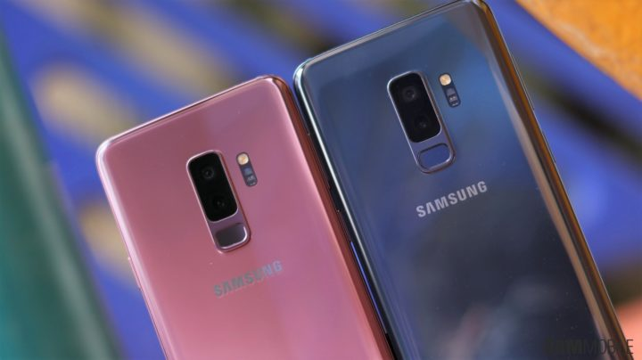 Samsung Galaxy S9 Coral Blue vs Lilac Purple: Side by side ...