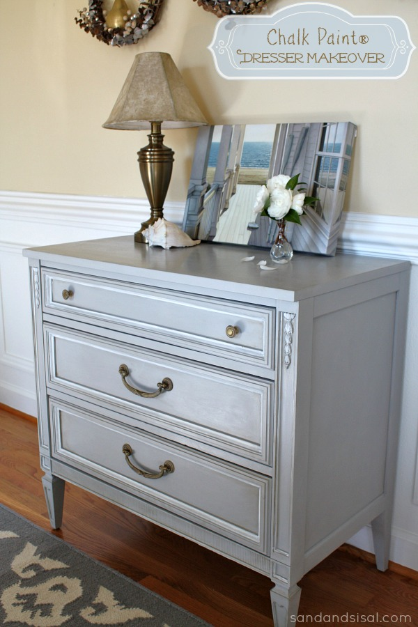 Blue Chalk Paint Furniture