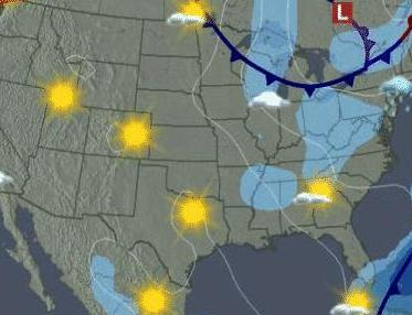 HD Decor Images » Science   San Domenico School Weather map of the United States