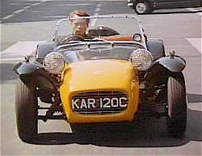Lotus And Caterham Seven Movie Role In The Prisoner