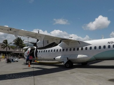 Island Air ATR 72 Kona to Honolulu – SANspotter