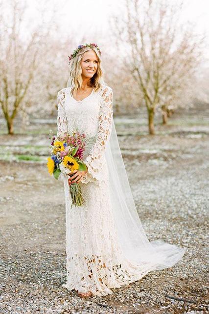 Dress October Outdoor Wedding