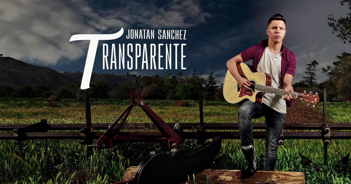 Letra De Jonathan Sanchez Transparente