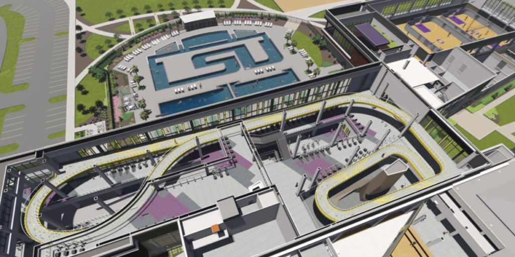 Photo: LSU has an awesome new campus attraction