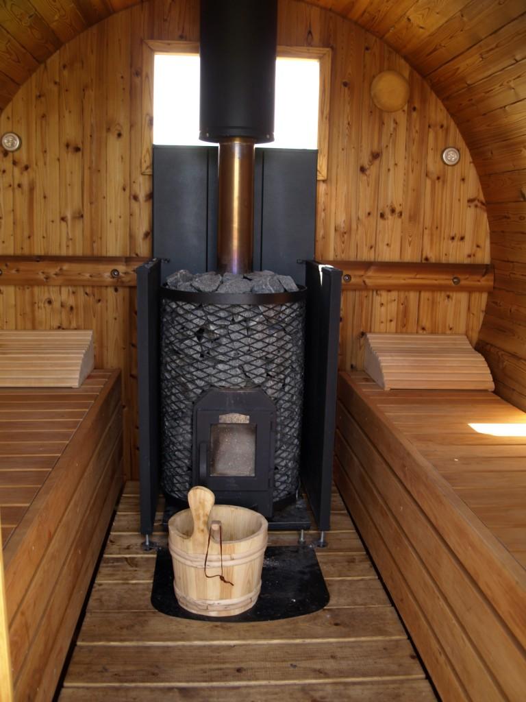 Sauna In Hoe Grange Holidays Derbyshire Wooden Hot Tubs