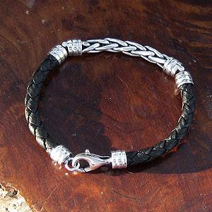 .925 Sterling Silver Bali Bracelets