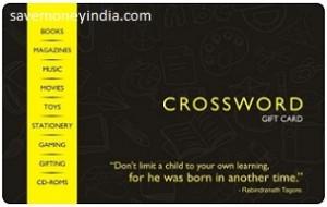 Rs. 1000 Crossword Gift Card Rs. 800 – Amazon | SaveMoneyIndia