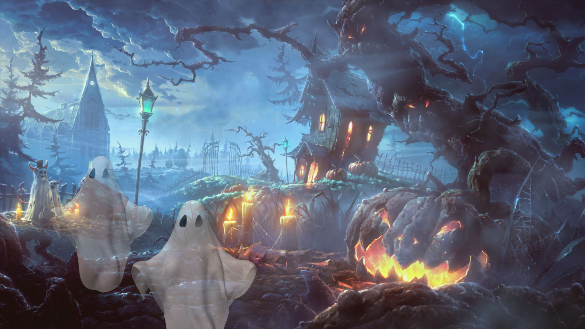 Windows Screensavers Animated 7 Halloween