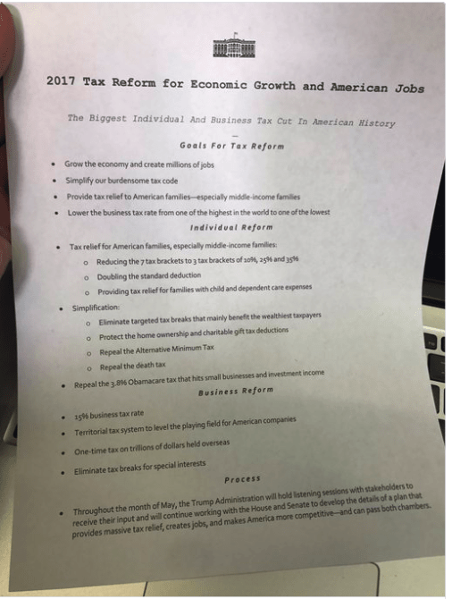 Trump GOP Tax Plan  Cuts and Changes in 2017  2018 and Beyond     Trump Tax Plan Update