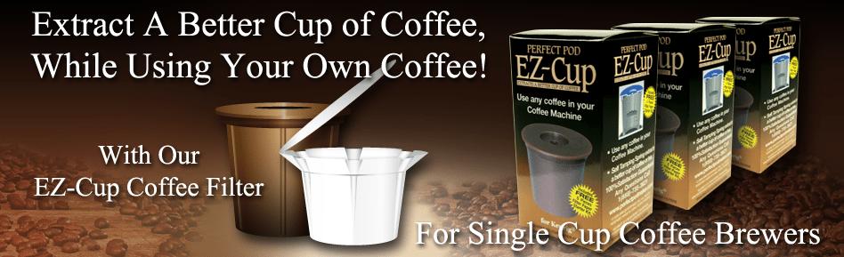 Individual Coffee Reusable Pods