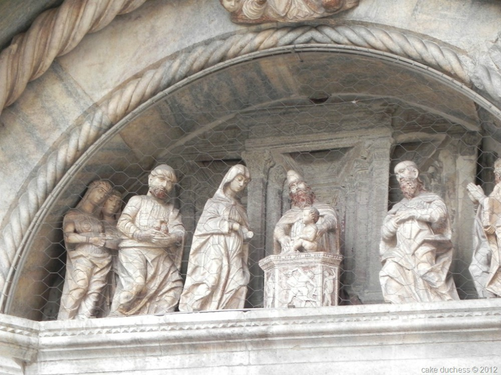 image of statues