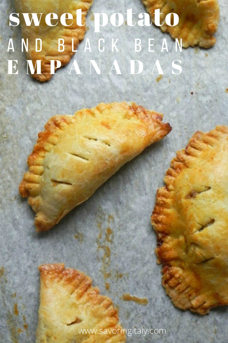 overhead image of empanadas