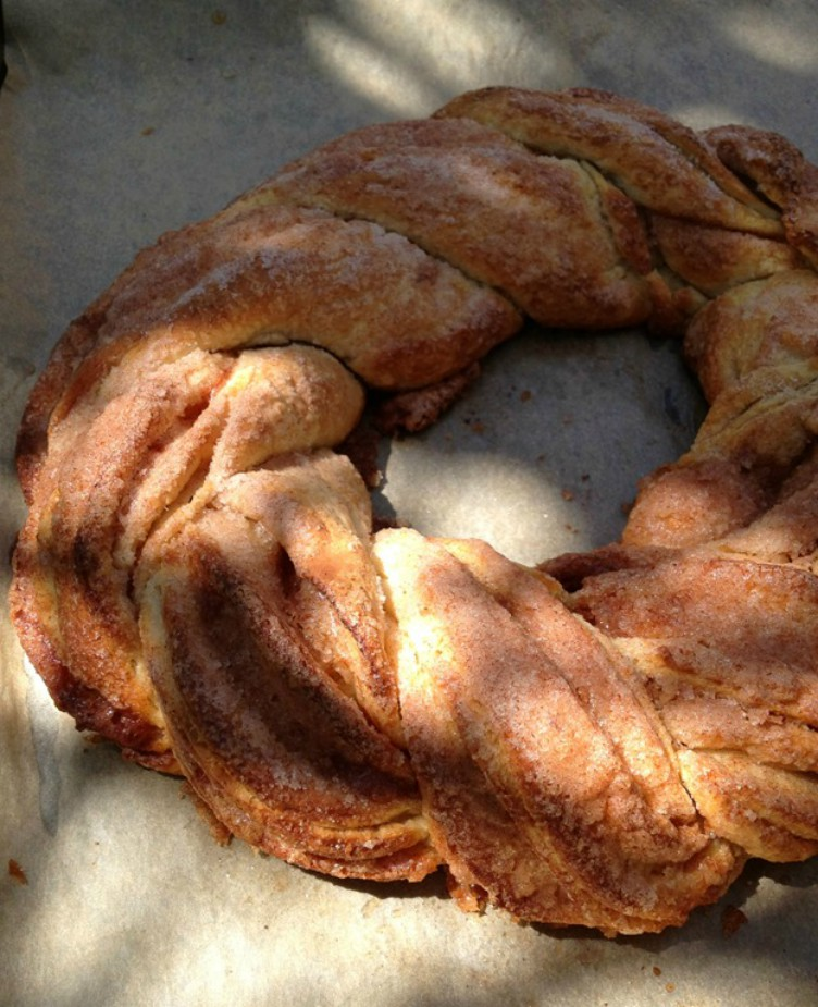 image of bread on parchment paper