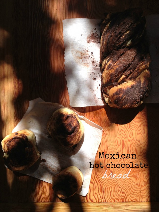 Mexican Hot Chocolate Bread