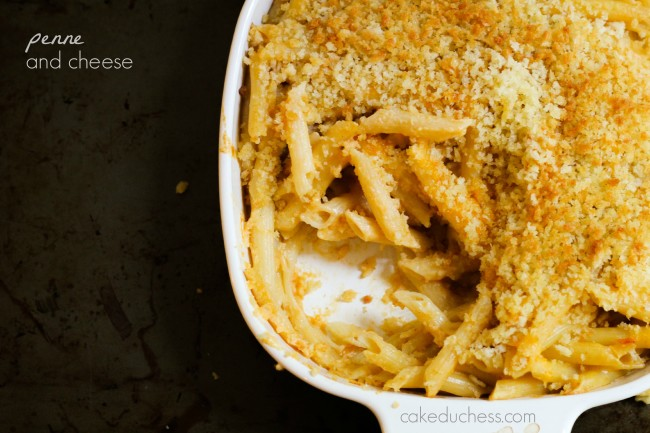 Penne and Cheese