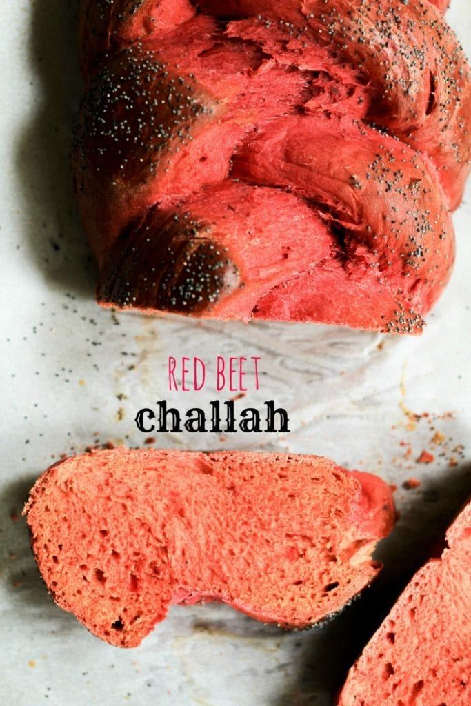 Red Beet Challah