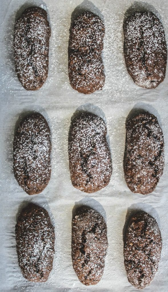 A typical Italian cookie that is eaten in Italy to remember loved ones that have left us on All Soul's Day. #cookies #italianrecipe #baking #dessert #chocolate