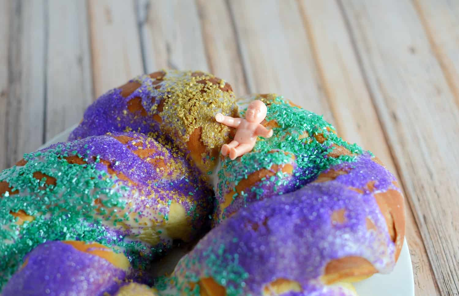 Mardi Gras King Cake Traditional Cake For Fat Tuesday