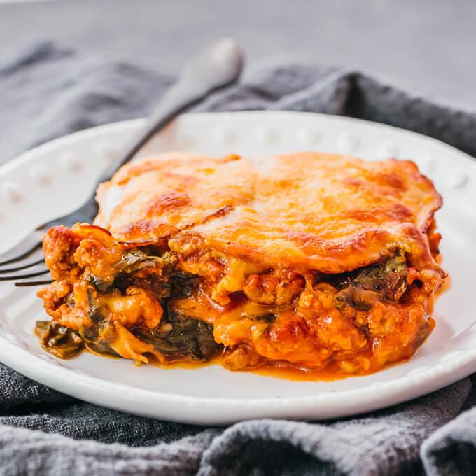 Keto Lasagna Low Carb Savory Tooth