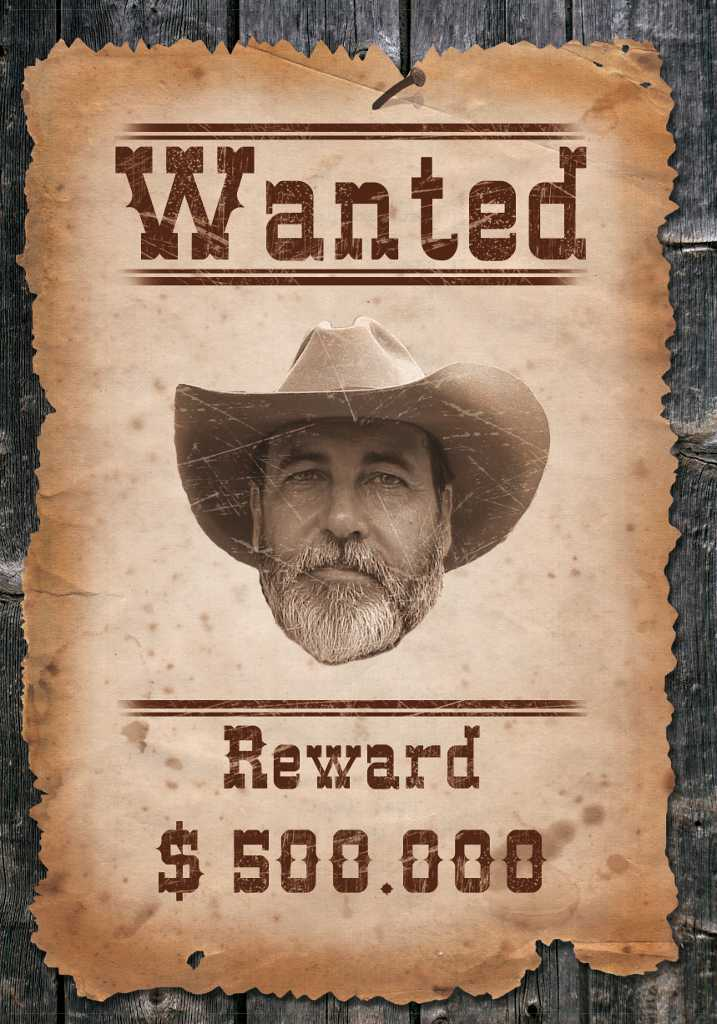 Wanted Poster Photoshop