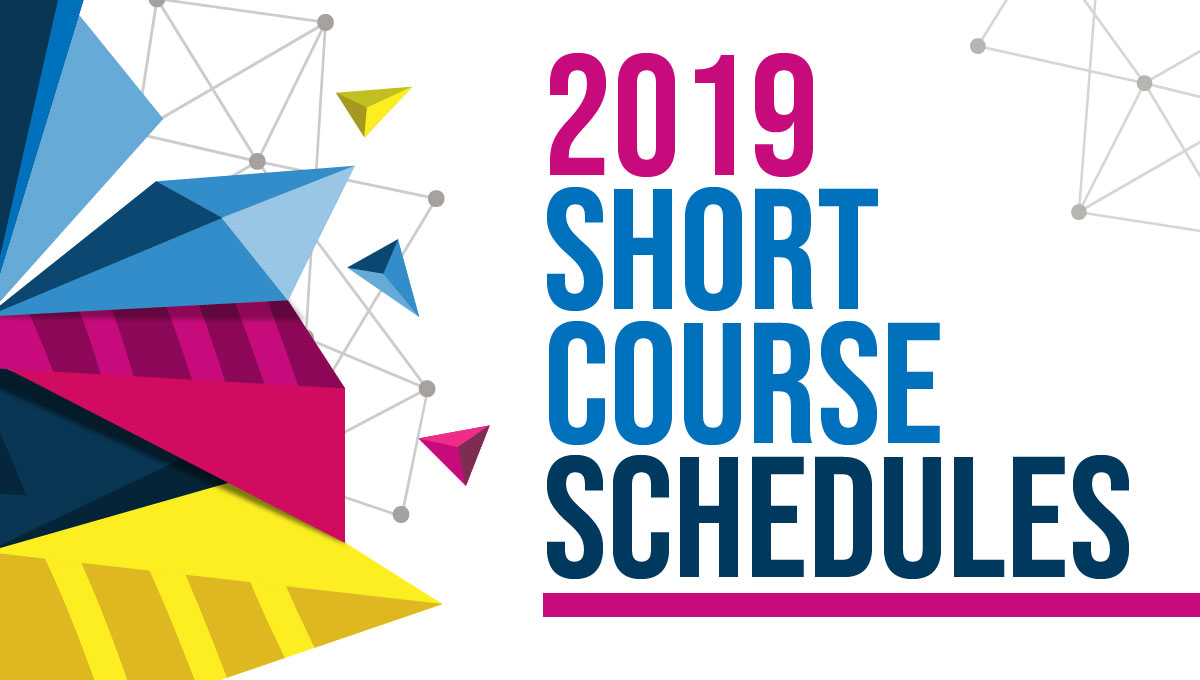 2019 Short Course Schedules | SBCS Global Learning Institute