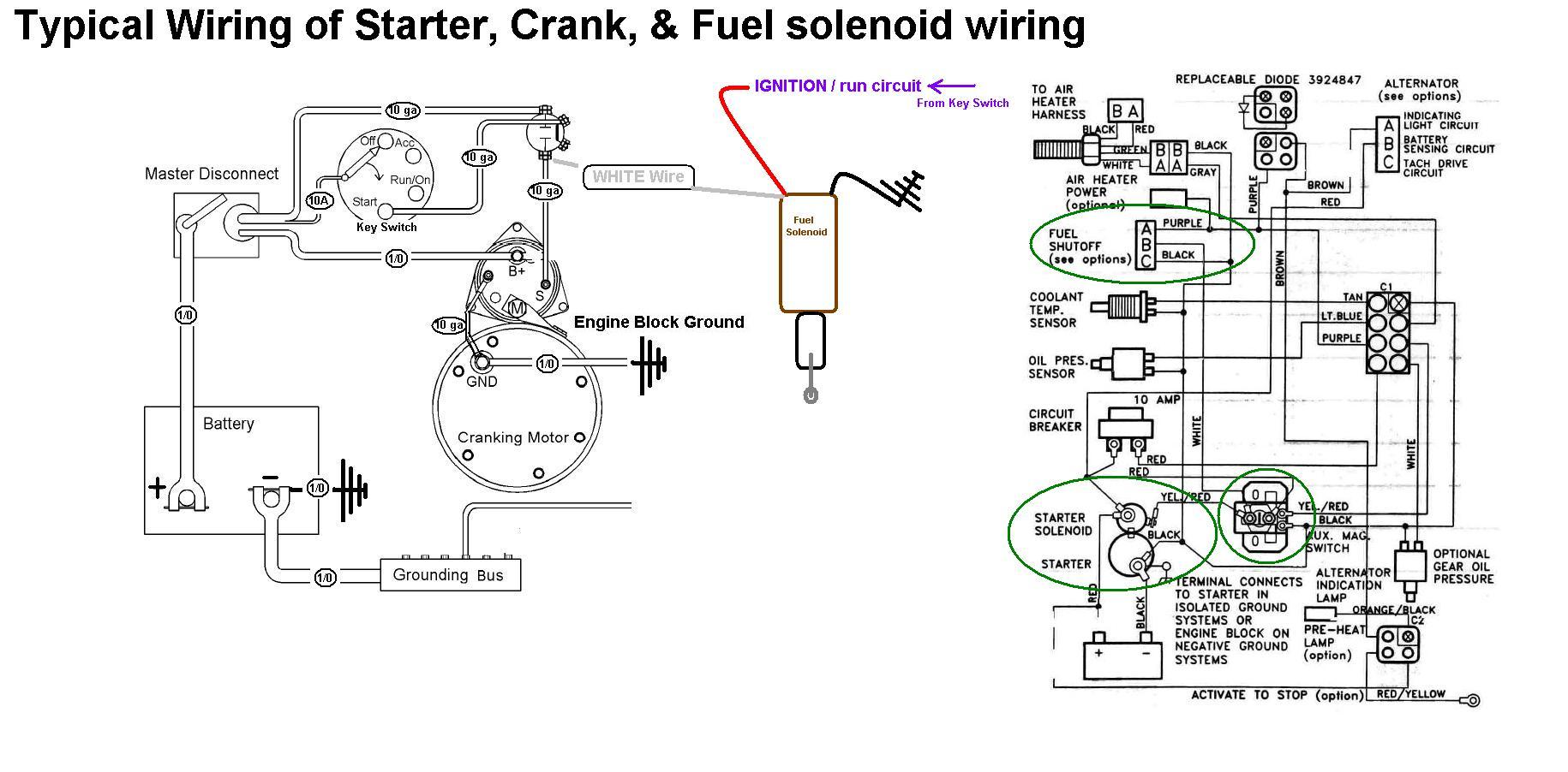 Starter Crank Fuel Solenoid Wiring gm power steering control valve