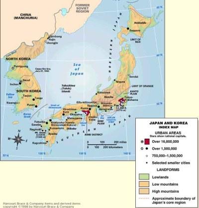 JAPAN & KOREAS: Island Arc