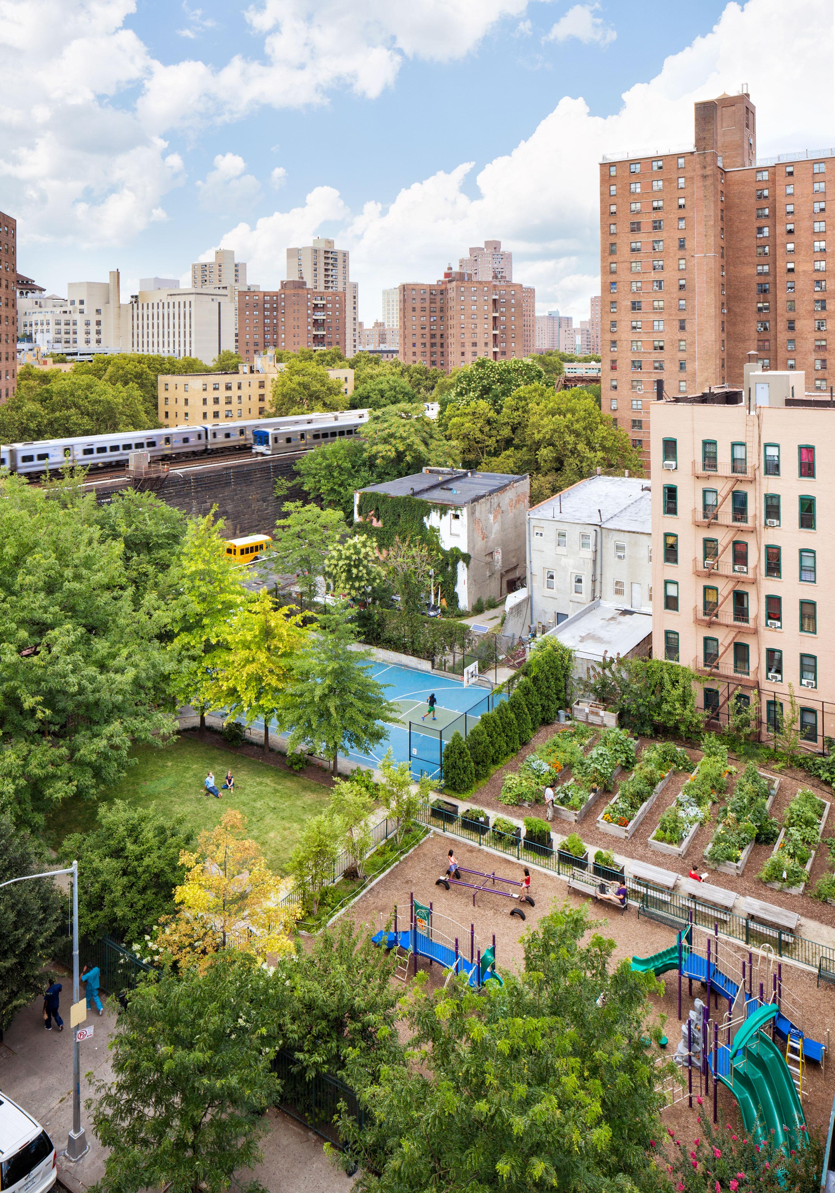 103rd Street Community Garden Scape