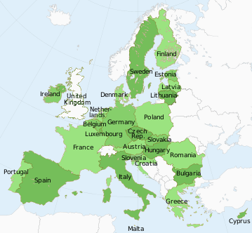 The Member States of the European Union   List of Countries in the EU Map of EU Member Countries