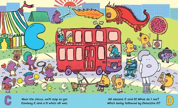 find the alphabet # 74