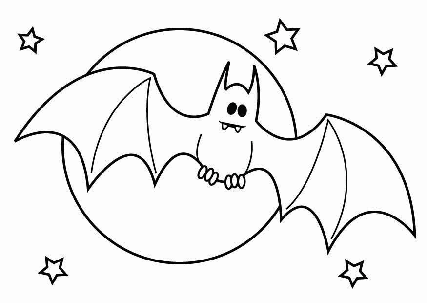 Scary Halloween Dracula Coloring Pages