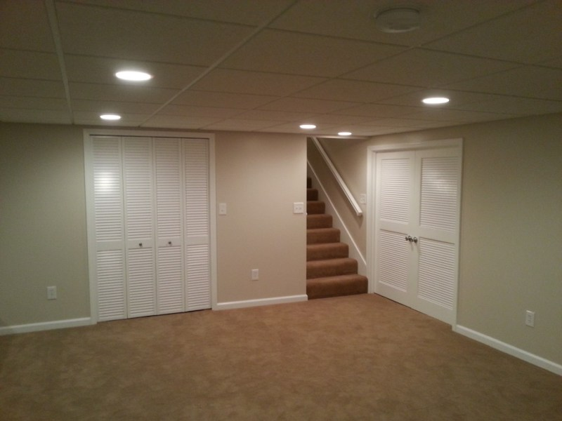 Basement Finish  Carpet  Trim  Doors  Drop Ceiling  Canned Lights     Basement Finish  Carpet  Trim  Doors  Canned Lights