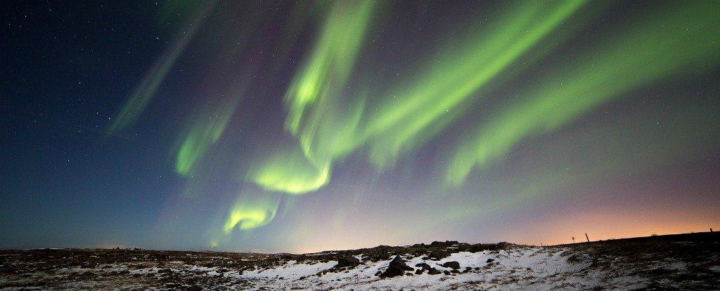 Northern Lights Activity Map