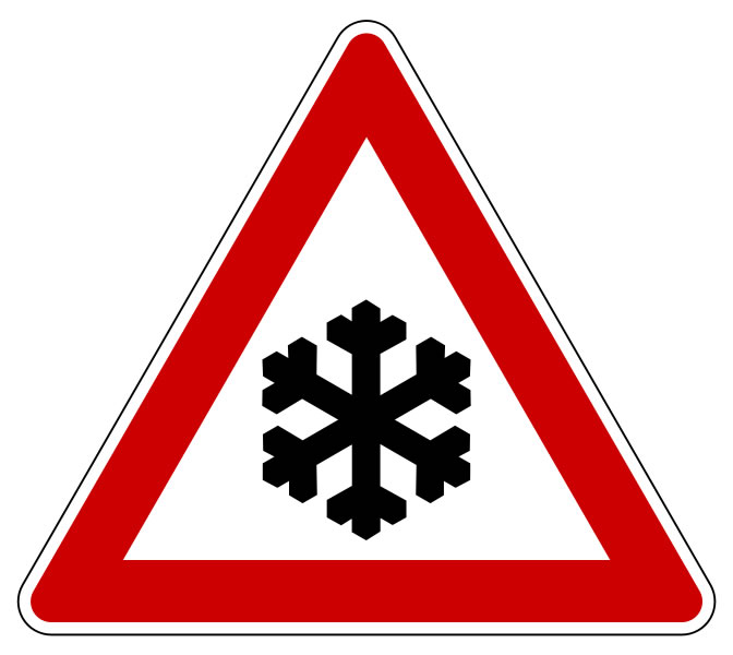 Snow Warning Sign Pictures Photos Amp Images Of Weather