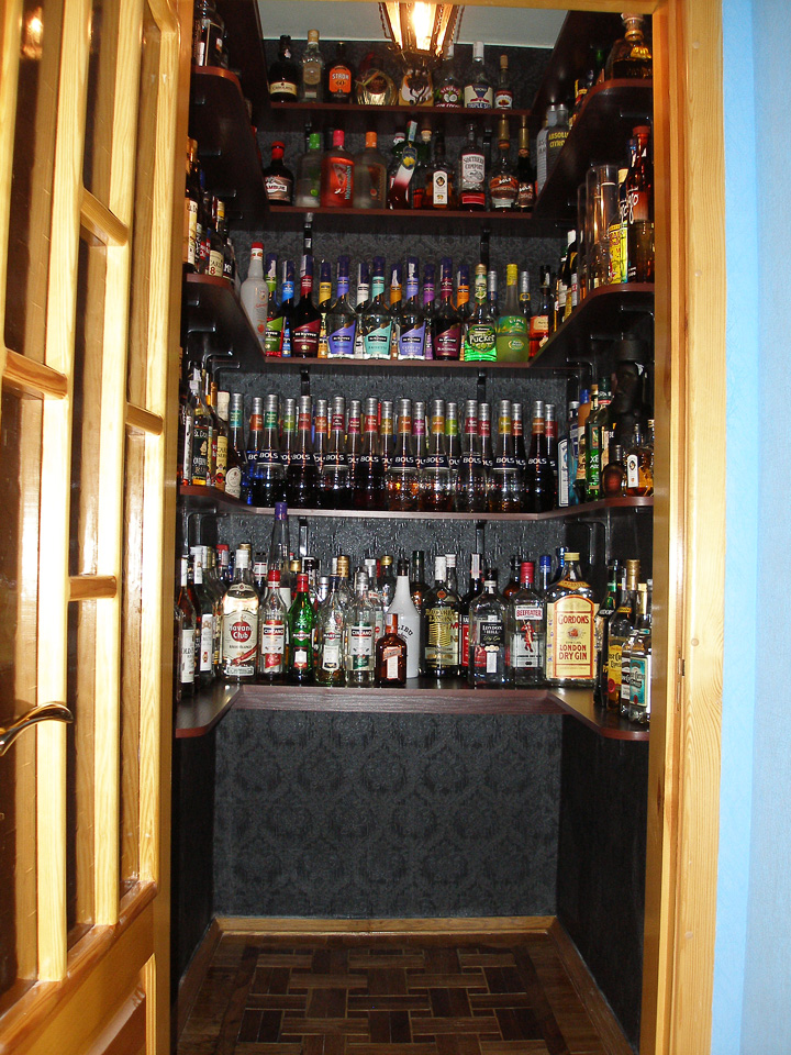 My Liquor Cabinet Science Of Drink