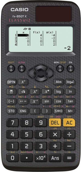 Casio Fx 85gt Plus Black Solar Scientific Calculator