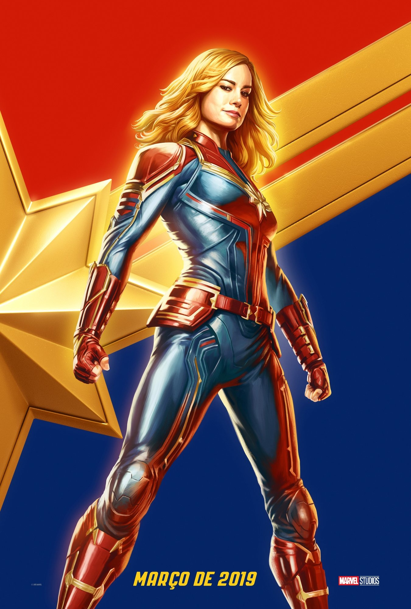 Captain Marvel New Poster From Brazil Comic Con Is All You