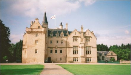 Brodie Castle Near Inverness Scotland