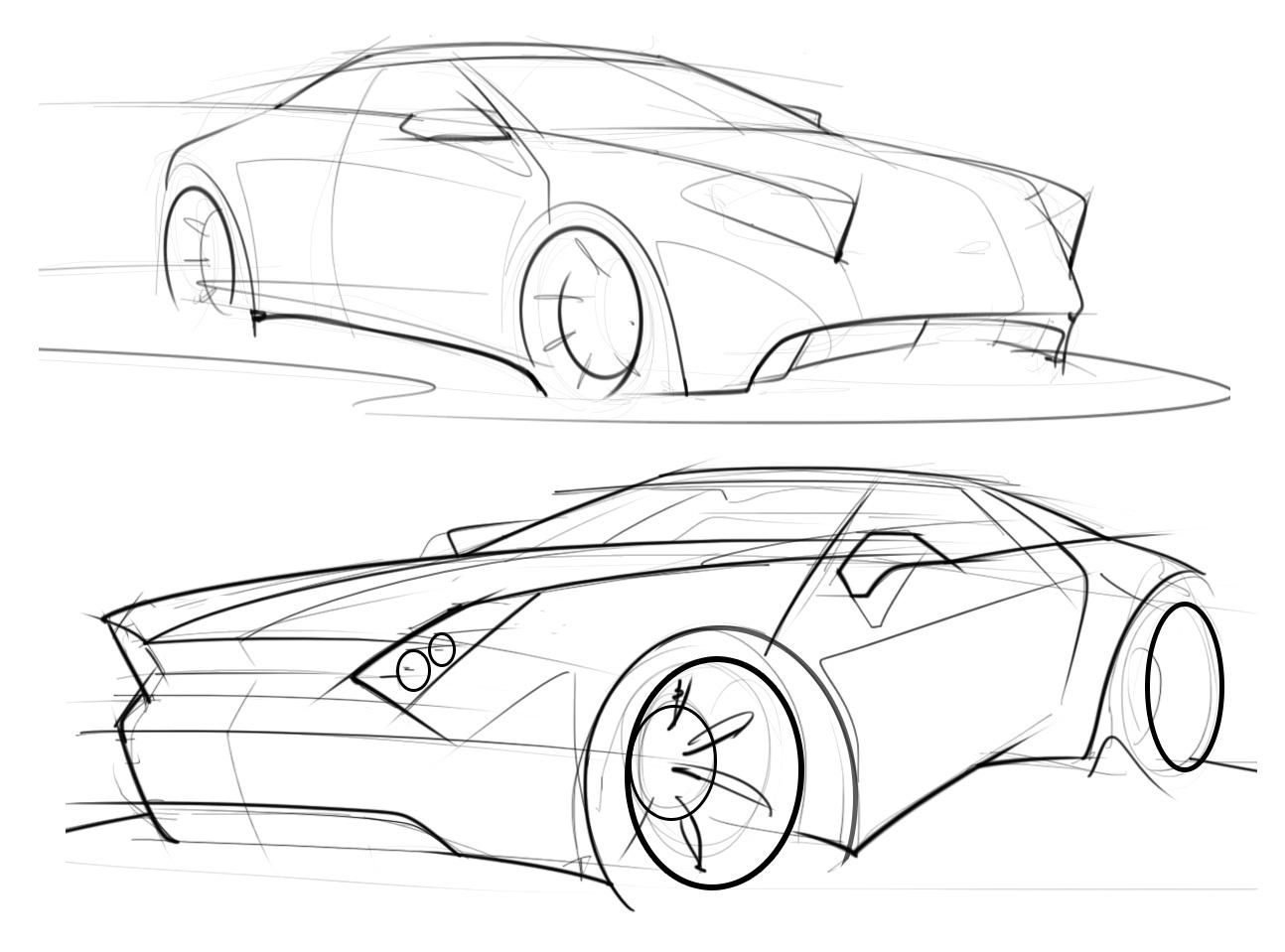 Sports car scottdesigner