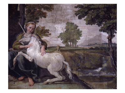 Image of: Unicorn Unicorn Poster From Loves Of The Gods Fresco Italy Scottish At Heart The Unicorn Of Scotland Our Mystical National Animal