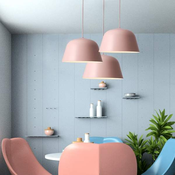 pendant lighting pink # 16