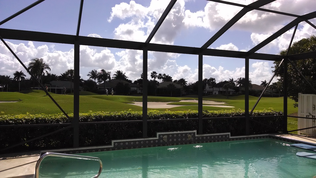 Restoring A Pool Enclosure In West Palm