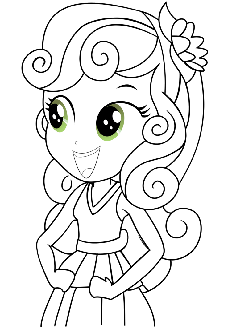 Sweetie Belle Coloring Pages Coloring Page