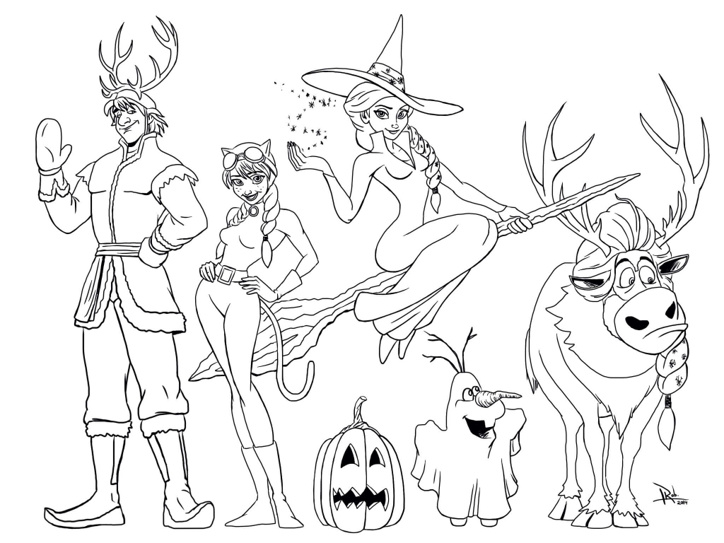 40 Printable Halloween Coloring Pages Kids Will Love
