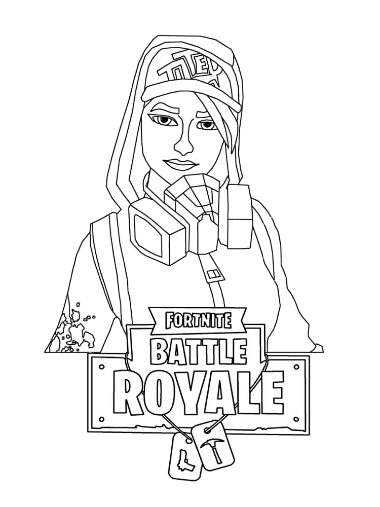 Drift Fortnite Coloring Pages Auto Electrical Wiring Diagram